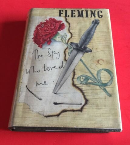 ERSTAUSGABE IAN FLEMING THE SPION WHO LOVED ME JAMES BOND 1ST 1ST EDITION EA