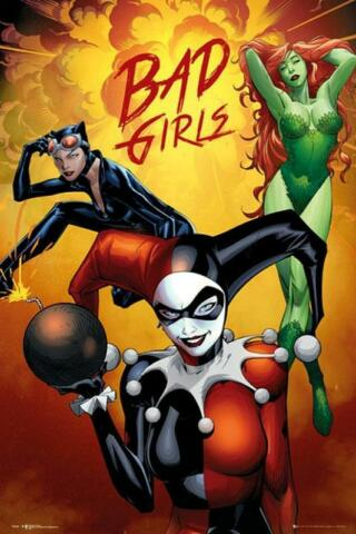 DC COMICS BAD GIRLS GRUPPE MAXI POSTER 61CM X 91 5CM NEW AND SEALED