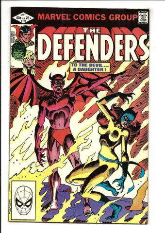 DEFENDERS 111 SEPTEMBER 1982 VF NM