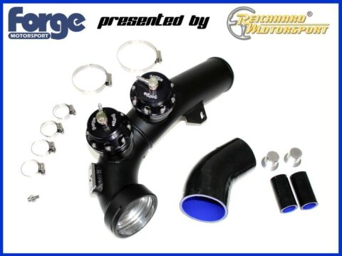 FORGE BLOW POP OFF VENTIL KIT XXL HARDPIPE BMW E90 91 92 93 335I N54 TWINTURBO