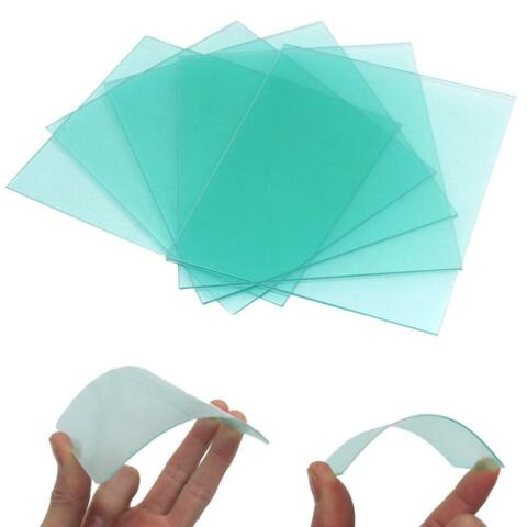 CLEAR WELD LENS PLASTIC SAFETY LENSES FOR WELDING HELMET HOODDE
