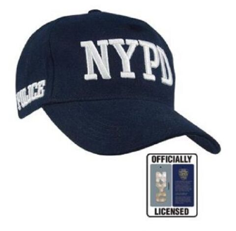 NEW YORK POLICE DEPARTMENT NYPD SHIELD CAP M TZE BLAU