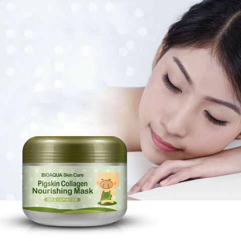 100G KOREAN PIG LEATHER COLLAGEN MASK ANTI AGING WRINKLE CREAM MAGIC FACIAL M J