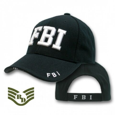 FBI DELUXE LAW ENFORCEMENT CAP USA POLICE M TZE