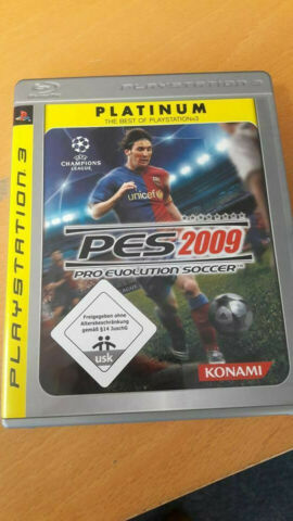 PLATINUM PS 3 PES 2009 PRO EVOLUTION SOCCER THE BEST OF PLAYSTATION 3