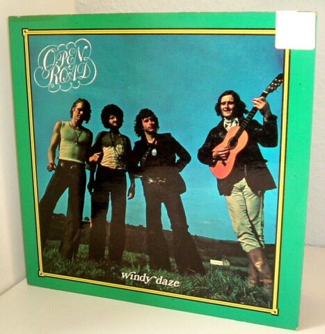 WINDY DAZE OPEN ROAD FOLK PSYCHEDELIC ROCK VIN 1971 RAR