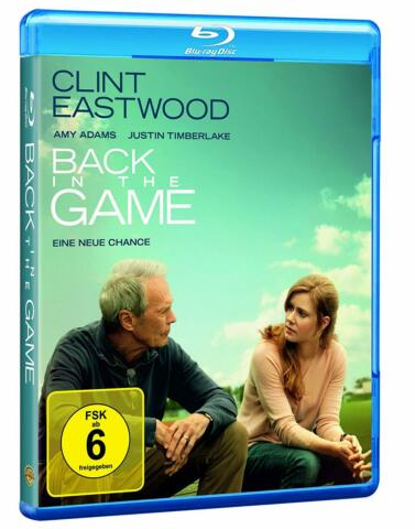 BACK IN THE GAME BLU RAY CLINT EASTWOOD