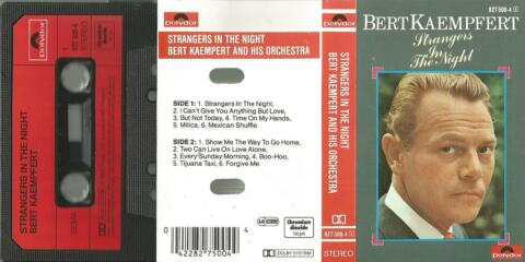B MC KASSETTE BERT KAEMPFERT STRANGERS IN THE NIGHT MEXICAN SHUFFLE MILICA