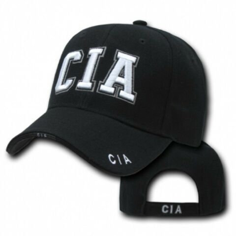 CENTRAL INTELLIGENCE AGENCY CIA DELUXE LAW ENFORCEMENT CAP USA POLICE M TZE
