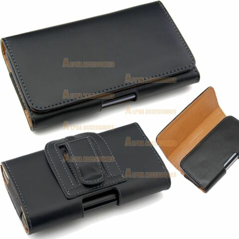 LEATHER PU FLIP BELT CLIP HIPLOOP HOLSTER POUCH CASE COVER FOR NOKIA PHONE MODEL