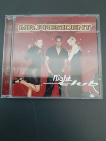 CD MR PRESIDENT NIGHT CLUB HAPPY PEOPLE HASTA MANANA 13 TITEL