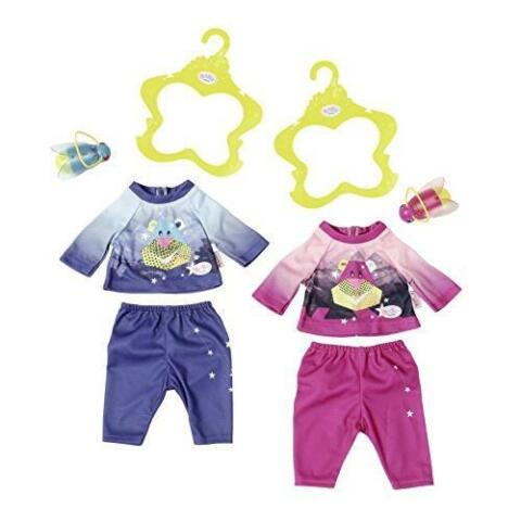 ZAPF CREATION 824818 BABY BORN PLAY FUN NACHTLICHT OUTFIT