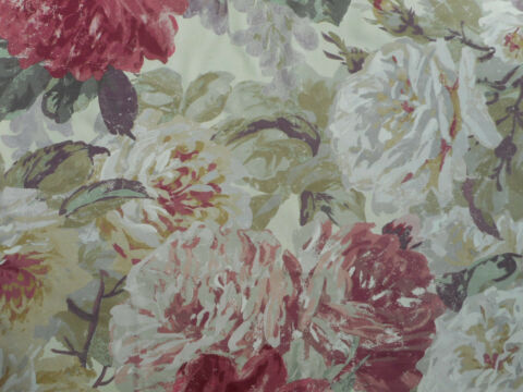ZOFFANY CURTAIN FABRIC ROSE ABSOLUTE 3 4 METRES 340CM ANTIQUE 100 WOOL