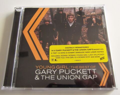 CD GARY PUCKETT THE UNION GAP YOUNG GIRL THE BEST OF