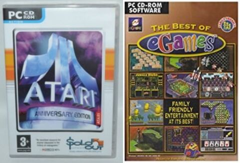 THE BEST OF EGAMES ATARI ANNIVERSARY EDITION NEW SEALED