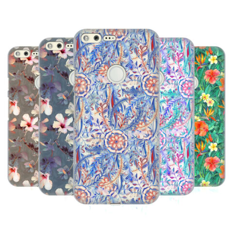 OFFICIAL MICKLYN LE FEUVRE FLORALS HARD BACK CASE FOR GOOGLE PHONES