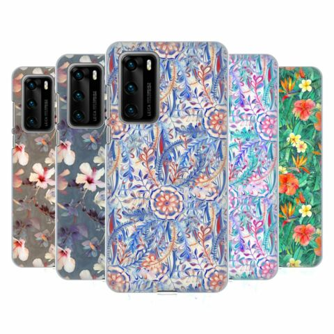 OFFICIAL MICKLYN LE FEUVRE FLORALS HARD BACK CASE FOR HUAWEI PHONES 1