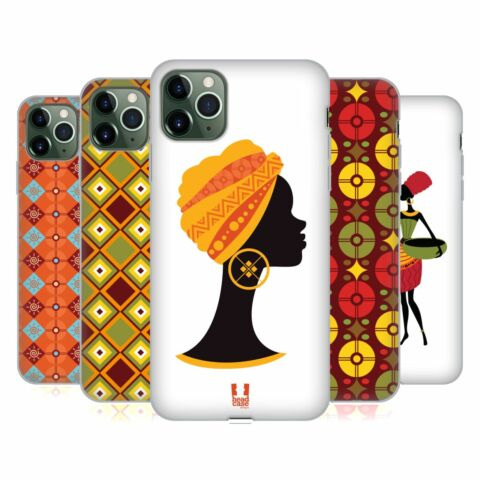 HEAD CASE DESIGNS AFRICAN PATTERN SERIES 1 SOFT GEL CASE FOR APPLE IPHONE PHONES