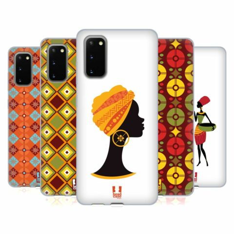 HEAD CASE DESIGNS AFRICAN PATTERN SERIES 1 SOFT GEL CASE FOR SAMSUNG PHONES 1