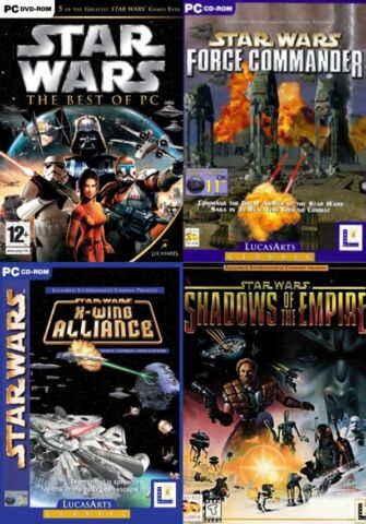 STAR WARS BEST OF FORCE COMMANDER X WING ALLIANCE SHADOWS OF THE EMPIRE