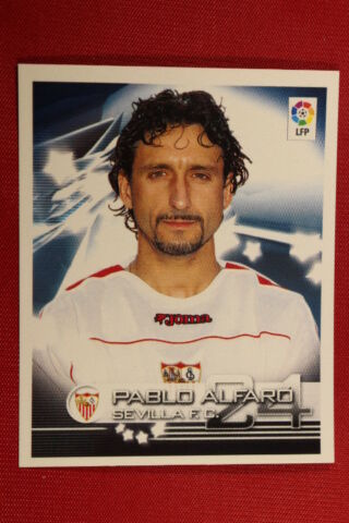 PANINI SUPERLIGA 2002 2003 2002 03 N 306 P ALFARO SEVILLA FC TOP MINT