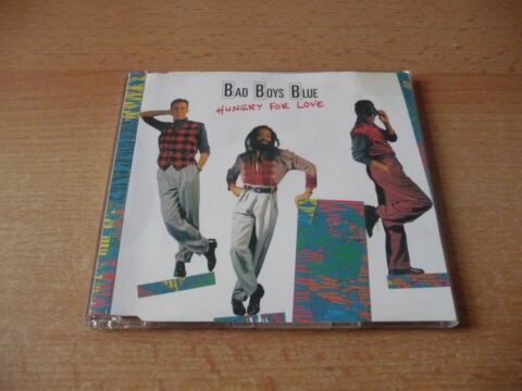 MAXI CD BAD BOYS BLUE HUNGRY FOR LOVE 1988 RARE
