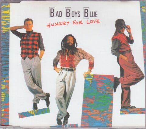 BAD BOYS BLUE CD SINGLE HUNGRY FOR LOVE C 1988
