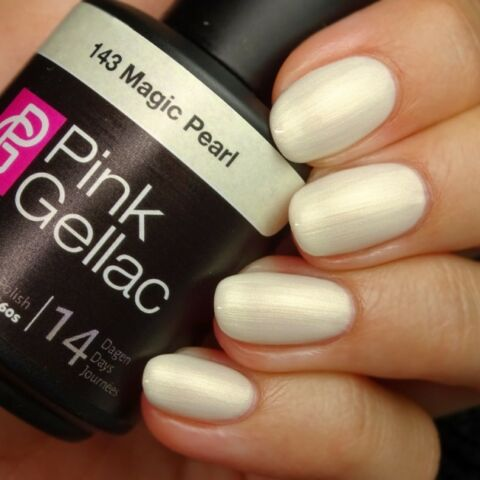 143 MAGIC PEARL WEI SHELLAC NAGELLACK 15 ML UV LED POLISH GEL PINK GELLAC NEU