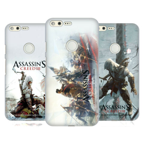 OFFIZIELLE ASSASSINS CREED III SCHLUESSEL KUNST BACK COVER F R GOOGLE HANDYS
