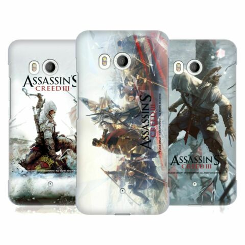 OFFIZIELLE ASSASSINS CREED III SCHLUESSEL KUNST BACK COVER F R HTC HANDYS 1
