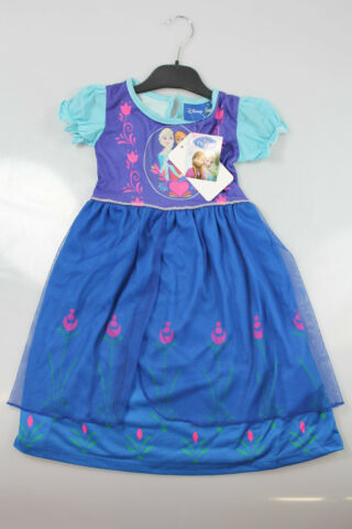 DISNEY FROZEN KINDER KLEID ANNA GR EN 98 104 110 116 122 128 140