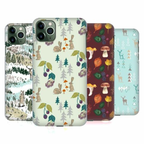 OFFICIAL LAURA THOMPSON WOODLANDS HARD BACK CASE FOR APPLE IPHONE PHONES
