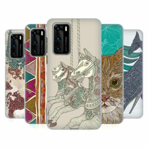 OFFICIAL VALENTINA ASSORTED DESIGNS SOFT GEL CASE FOR HUAWEI PHONES