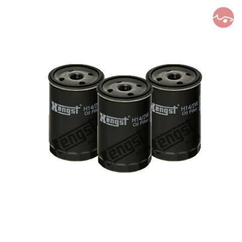 3X HENGST LFILTER H14 2W