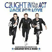BACK FOR LOVE VON CAUGHT IN THE ACT CD ZUSTAND SEHR GUT