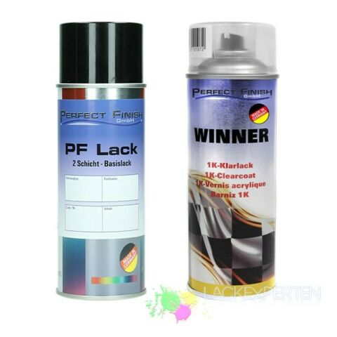 2X SPRAY SET BASISLACK KLARLACK METALLICK PERL FARBWAHL TOP QUALIT T