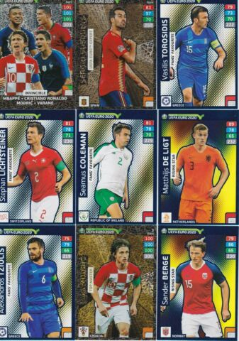 PANINI ROAD TO EURO 2020 ADRENALYN XL FAN RARE POWER UP RISING STAR AUSSUCHEN