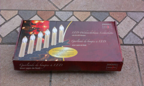 LED KERZEN LICHTERKETTE