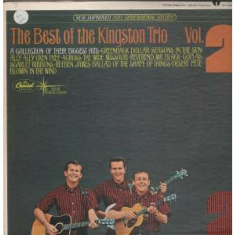 KINGSTON TRIO BEST OF VOL 2 LP VINYL USA CAPITOL 11 TRACK SM2280 SLEEVE HAS