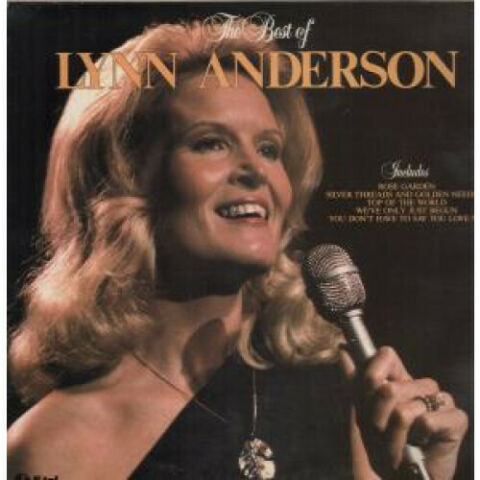 LYNN ANDERSON BEST OF LP VINYL UK K TEL 15 TRACK NE1196 SLEEVE HAS PENMARK ON
