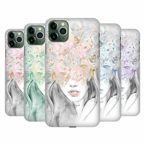 NATURE MAGICK GIRL WITH FLOWERS IN HER HAIR BACK CASE FOR APPLE IPHONE PHONES