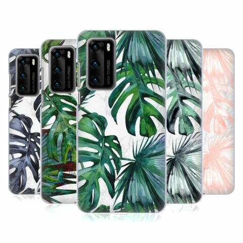 OFFICIAL NATURE MAGICK TROPICAL PALM LEAVES ON MARBLE CASE FOR HUAWEI PHONES 1