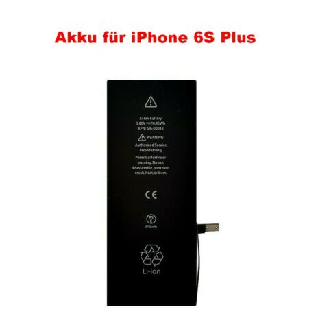 AKKU PASSEND F R APPLE IPHONE 6S PLUS APN 616 00042 616 00045 BATTERIE 2750MAH