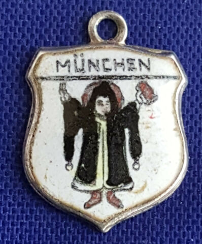 M NCHEN ANH NGER WAPPEN BETTELARMBAND CHARMS SILBER 800