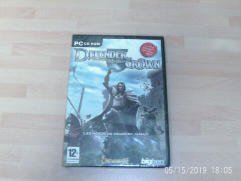 DEFENDER OF THE CROWN FRENCH VERSION NEW SEALED