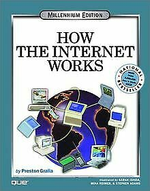 HOW THE INTERNET WORKS HOW IT WORKS ZIFF DAVIS QUE V BUCH ZUSTAND GUT
