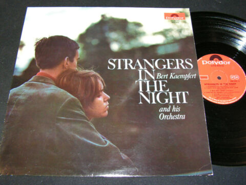 BERT KAEMPFERT STRANGERS IN THE NIGHT INDIA LP 1966 POLYDOR OF INDIA H 184053
