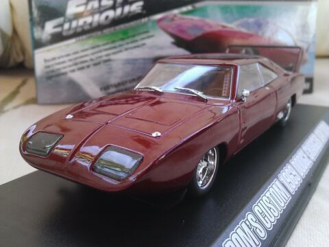 FAST AND FURIOUS DOMS 1969 DODGE CHARGER DAYTONA DRUCKGUSS MODELLAUTO 1 43