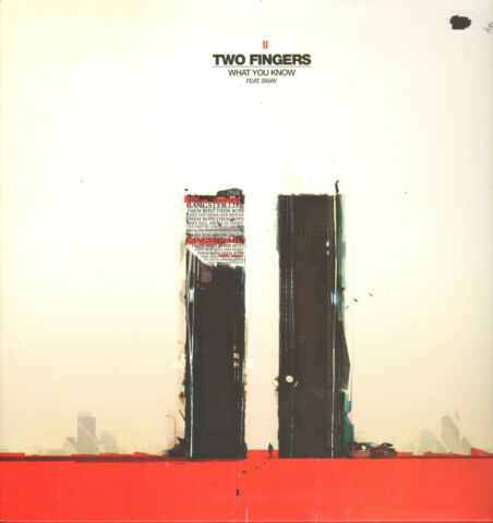 TWO FINGERS FEAT SWAY WHAT YOU KNOW 12 MAXI LP VG 5021392133867