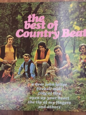 THE BEST OF COUNTRY BEAT JI BRABEC ARTIA SUPRAPHON STEREO VINYL LP 1979